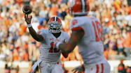 Boyd makes Virginia homecoming memorable in Clemson's 59-10 rout