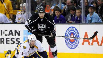 Kings Lose Jarret Stoll, And Stall Out In Loss