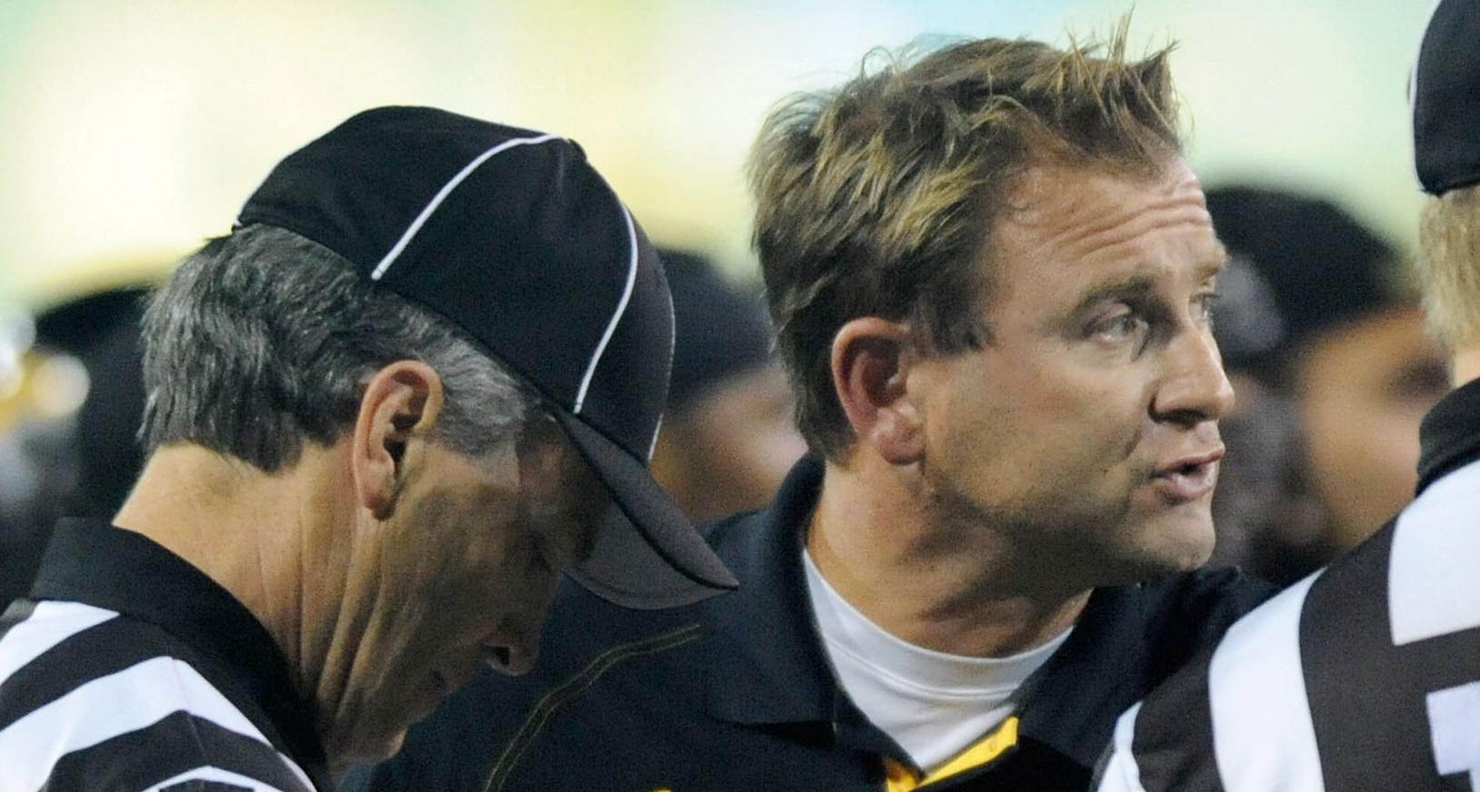 Towson coach Rob Ambrose bites his tongue after defense's ...
