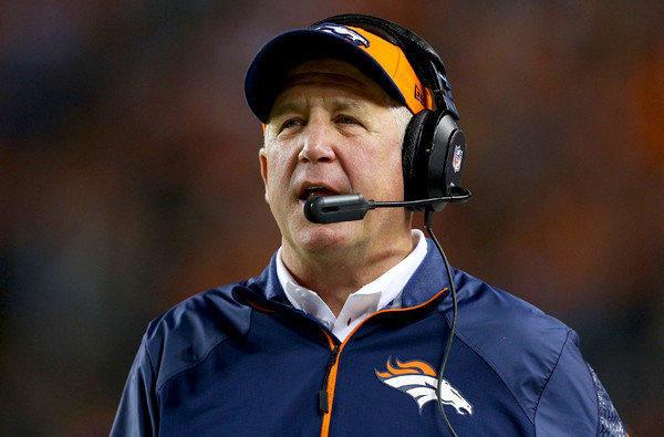 Coach John Fox has led the Broncos to a 7-1 record this season.