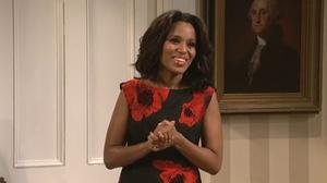 Kerry Washington helps 'SNL' address the elephant in the room