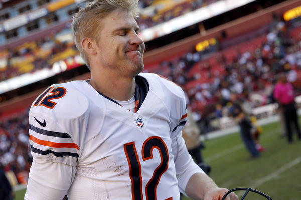 Cheer up, Josh McCown. You know the darkness is coming every year for the Bears. Don't let it get you down!