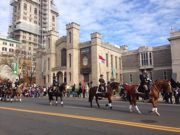 The Connecticut Veterans Parade passing through Main Street in Hartford on Sunday. Nearly 3,000 people participated.