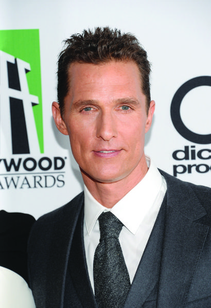 Matthew McConaughey turns 44 on Monday, Nov. 4.