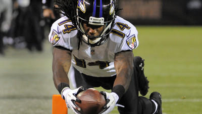 Ravens notebook: Chemistry growing between Joe Flacco, Marlon B…