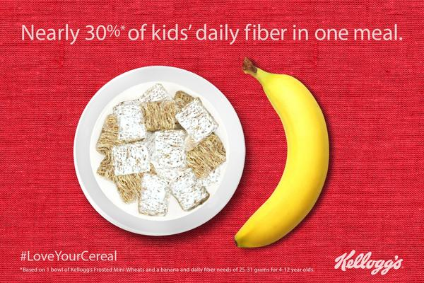 Kellogg Co., maker of cereals such as Frosted Mini-Wheats, above, said it will cut 7% of its global work force as part of a four-year cost-saving plan.