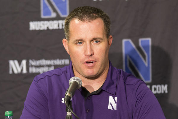 Northwestern's Pat Fitzgerald is dealing with a rash of team injuries.