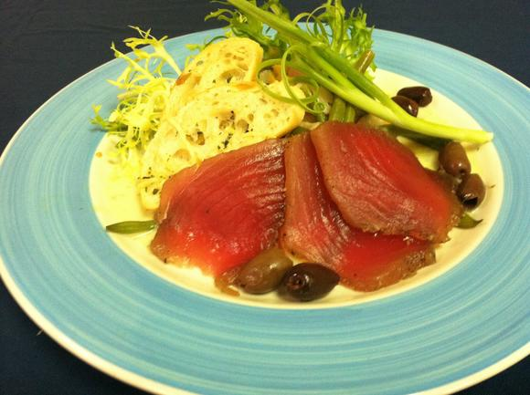 Tuna nicoise salad by Berret's Seafood Restaurant