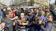 In Egypt, ex-President Morsi calls his trial illegitimate