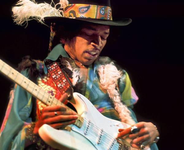 "The ""American Masters"" documentary ""Jimi Hendrix — Hear My Train A Comin."""