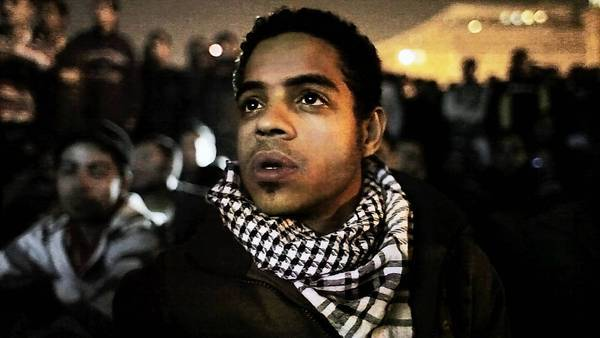 "This image from video released by Noujaim Films shows Egyptian activist Ahmed Hassan in a scene from the documentary ""The Square."" Netflix has acquired rights to the political film, which centers on real-life protesters in Cairo's Tahrir Square."