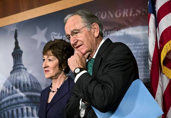 Sens. Susan Collins (R-Maine) and Tom Harkin (D-Iowa) are among strong supporters of a bill that would bar workplace discrimination based on sexual orientation. It gained enough bipartisan support to clear a key hurdle in the Senate.