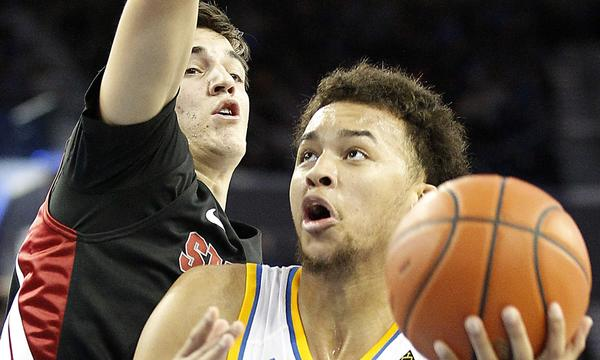 UCLA's Kyle Anderson, seen here in a game against Stanford last season, finished with 22 points and 12 rebounds in a 109-79 preseason win over Cal State San Marcos on Monday.