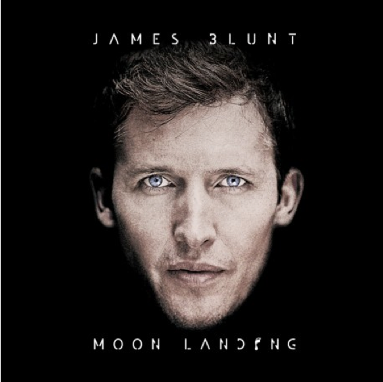 "James Blunt's ""Moon Landing"" album cover."