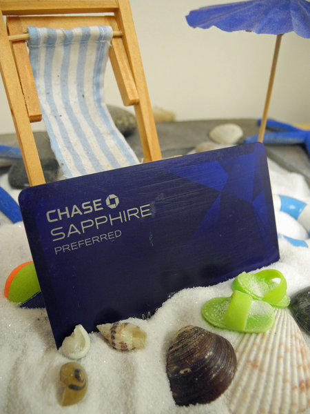 Later this month, the Chase Sapphire Preferred credit card will come with an embedded chip. Foreign transactions sometimes require the chip card.