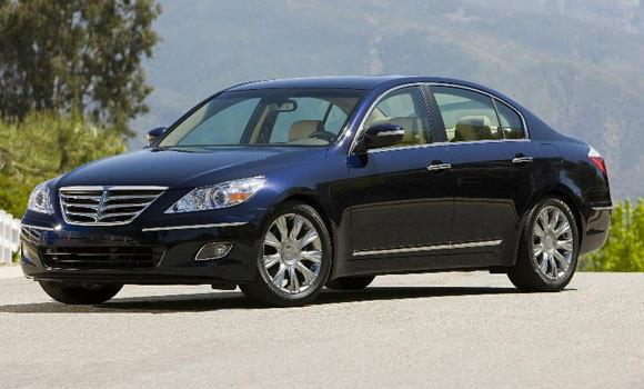 A 2009 Hyundai Genesis