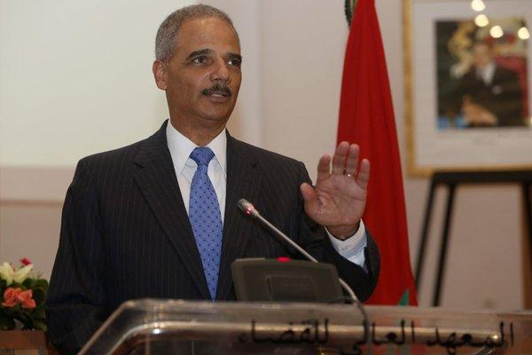 Atty. Gen. Eric Holder