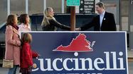 Virginia election 2013, noon polling