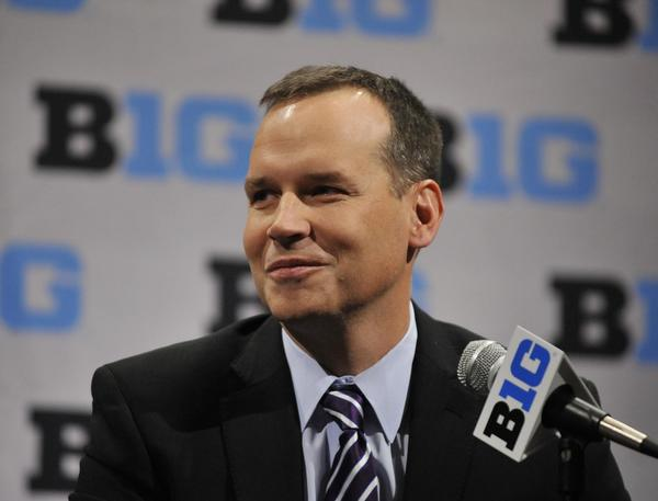 Chris Collins has yet to coach a game that counts for Northwestern, and yet he's already a mini-celebrity.