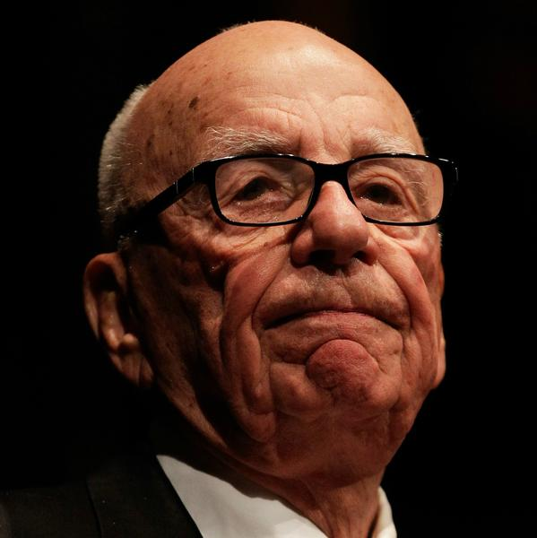 Rupert Murdoch, chairman and chief executive of 21st Century Fox, is shown. The company reported lower-than-expected earnings for its first financial period since the separation of its publishing assets.
