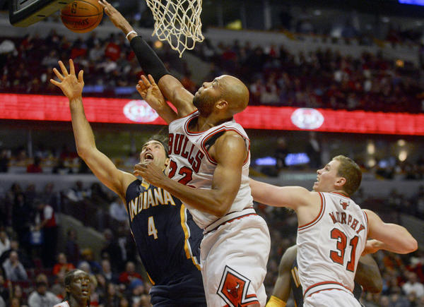 The preseason meeting between the Bulls and Pacers had playoff intensity.
