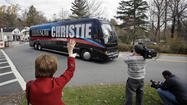 Chris Christie faces a minefield of issues on national stage