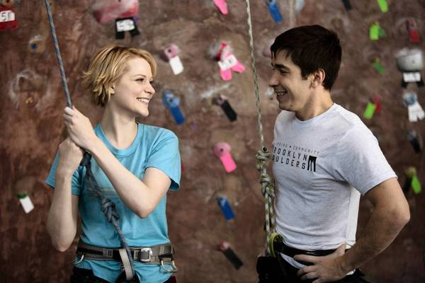 "Evan Rachel Wood and Justin Long star in ""A Case of You."""
