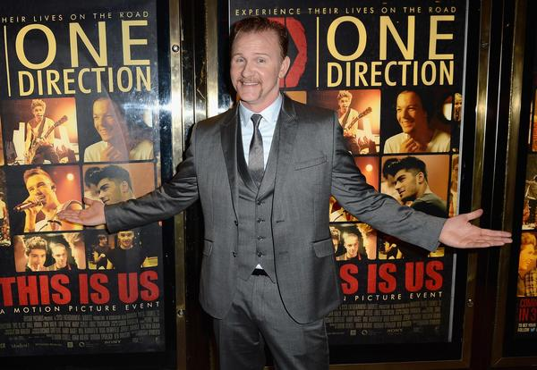 """Director Morgan Spurlock said """"One Direction: This Is Us"""" is the first of his documentaries to premiere in his West Virginia hometown. He relies on digital distributors such as Netflix to reach audiences, and lauded the online streaming service's deal for """"The Square."""""""