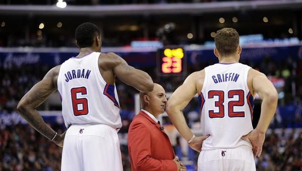 DeAndre Jordan, left, Blake Griffin and the rest of the Clippers open a three-game road trip Wednesday against the Orlando Magic.
