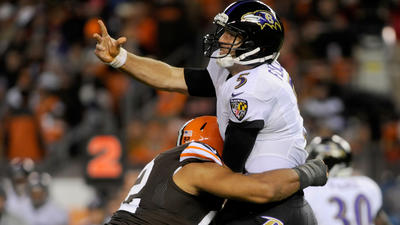 Looking back at the Ravens' loss to the Cleveland Browns