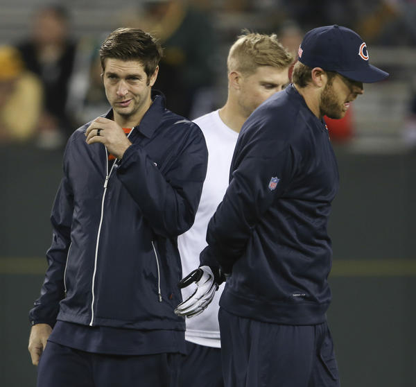 Bears quarterback Jay Cutler is wary of returning too soon from his groin injury.
