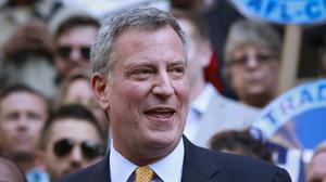Bill de Blasio wins New York mayoral election