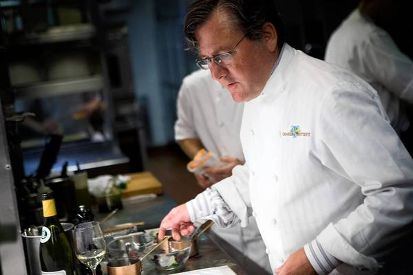 Chicago Chef Charlie Trotter, shown in September 2011, credited the development of his signature style to his travels in the U.S. and Europe. Among the chefs he mentored were Grant Achatz and Graham Elliot.