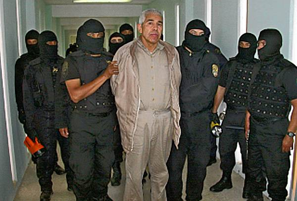 Rafael Caro Quintero, seen in prison in 2005, had served 28 years of a 40-year sentence when he was released from prison in Mexico.