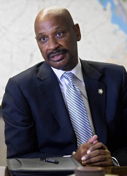 B.J. Roberts was re-elected Hampton Sheriff for the sixth time.