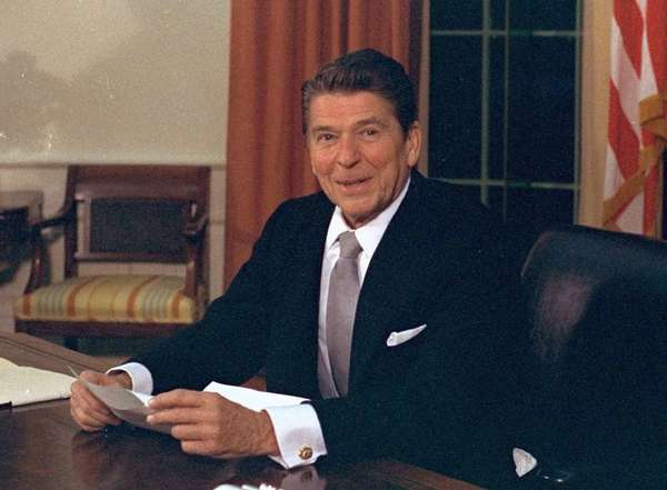 Ronald Reagan, like Codie Thacker, avoided the number 666.