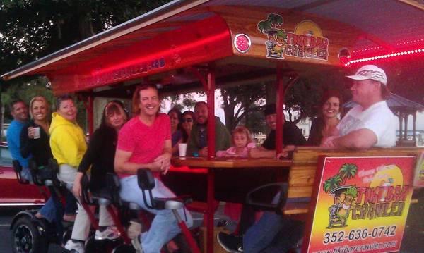 Tavares' Tiki Bar Crawler: Swell on wheels.