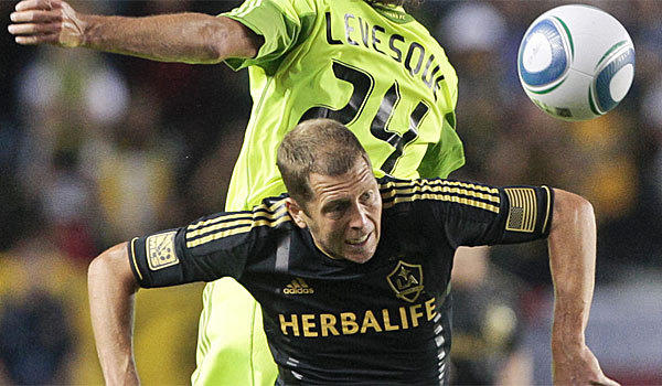 Gregg Berhalter, shown playing for the Galaxy in 2011, is the new head coach of the Columbus Crew.