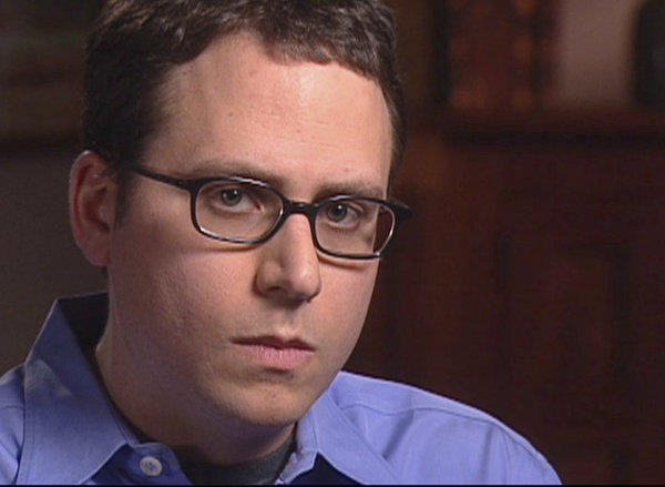 Stephen Glass, shown in 2003, faced skepticism from California Supreme Court justices Wednesday about whether he should be able to practice law. In the 1990s he was found to have fabricated a number of articles for national magazines.