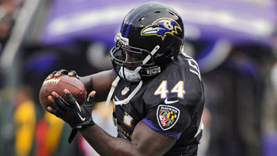 Ravens' use of three-receiver sets up in 2013