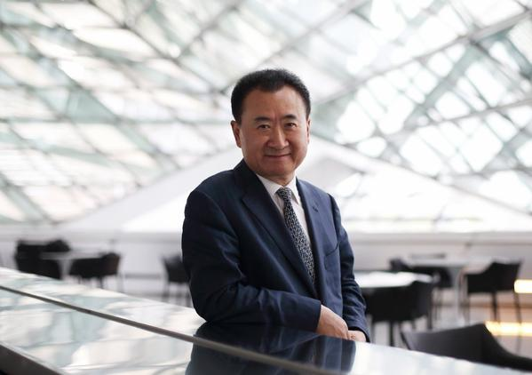 Billionaire Wang Jianlin, head of the Dalian Wanda Group, in China in September.