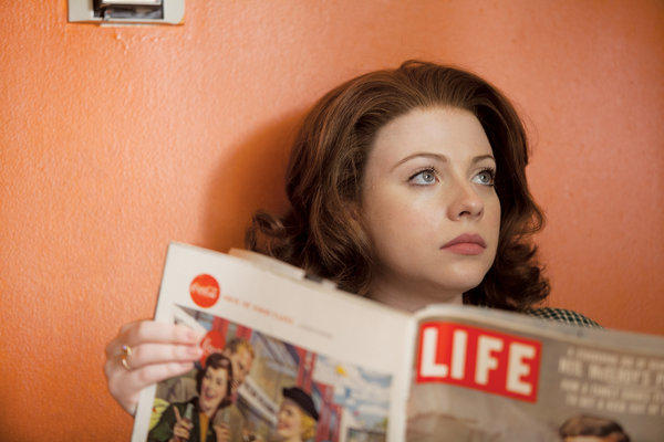 "Michelle Trachtenberg stars as Marina Oswald in ""Killing Kennedy"" on National Geographic Channel."