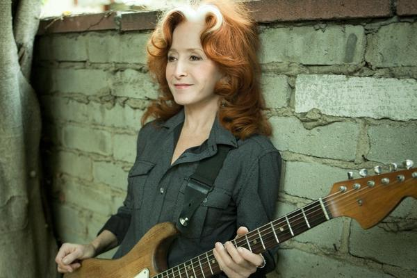 Bonnie Raitt performs Tuesday, Nov. 12, at the Toyota Oakdale Theatre. Mavis Staples will open.