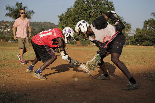 Uganda seeks to make its international lacrosse debut in 2014, just four years after the sport was introduced to the country.