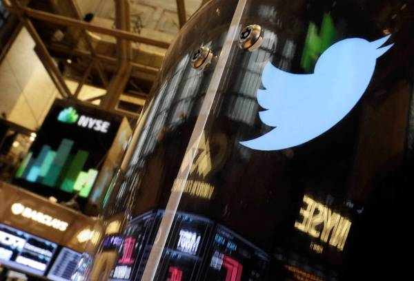 Twitter announced Wednesday that it would sell 70 million shares at a price of $26. It originally planned to sell at a range of $17 to $20. Above, the Twitter logo.
