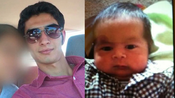 Mesut Guler of Sunnyvale and his son Henry Guler-Romero. The father and unharmed child were found Wednesday evening after Guler allegedly fled with the child, prompting an Amber Alert.