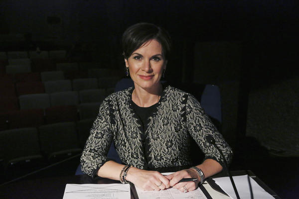 "Newswoman Elizabeth Vargas (seen here promoting an appearance on the drama ""Scandal"") is being treated for alcohol abuse."