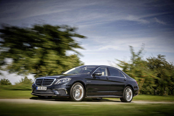 The new 2014 Mercedes-Benz S65 AMG will debut at the 2013 L.A. Auto Show on Nov. 20. Featuring a hand-assembled, twin-turbocharged V-12, the car has 621 horsepower and 738 pound-feet of torque.