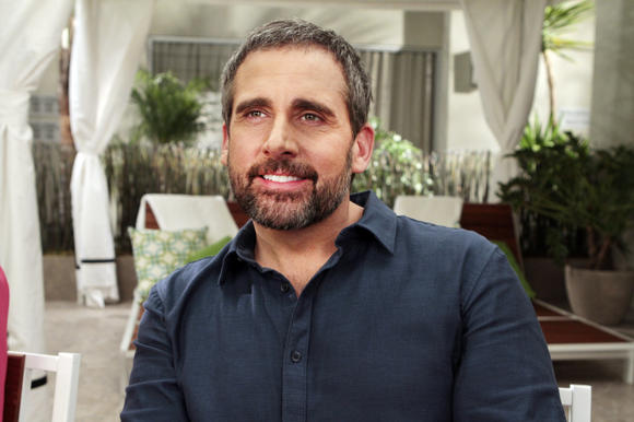 "Steve Carell in ""Web Therapy"" on Showtime."