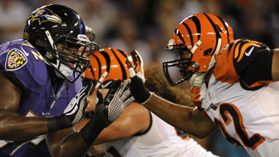 Bengals return tickets for Sunday's game against Ravens at M&am…